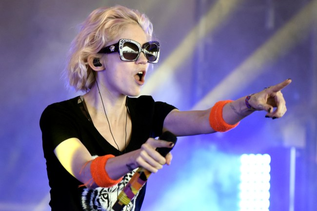 GULF SHORES, AL - MAY 22:  Grimes performs during the Hangout Music Festival on May 22, 2016 in Gulf Shores, Alabama.  (Photo by Tim Mosenfelder/Getty Images)