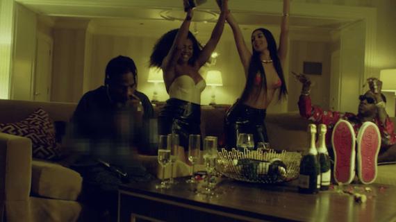 2 Chainz & Travis Scott 4AM Video Screenshot