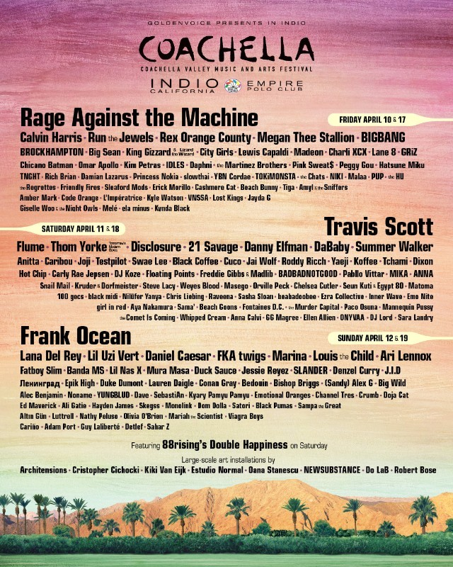 Image result for coachella 2020