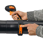 Toolless handle position adjustment