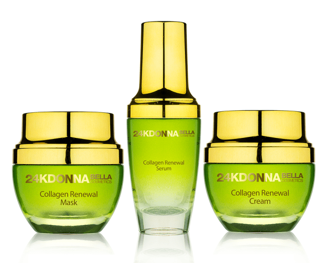 Donna Bella Cosmetics  24K Collagen Radiance Renewal Set