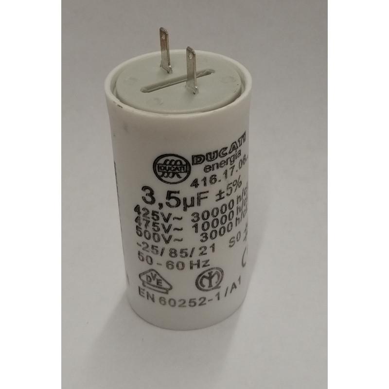 Condensateur Volet Roulant Somfy Simu 3 5µf Cosses 2 8mm Ducati