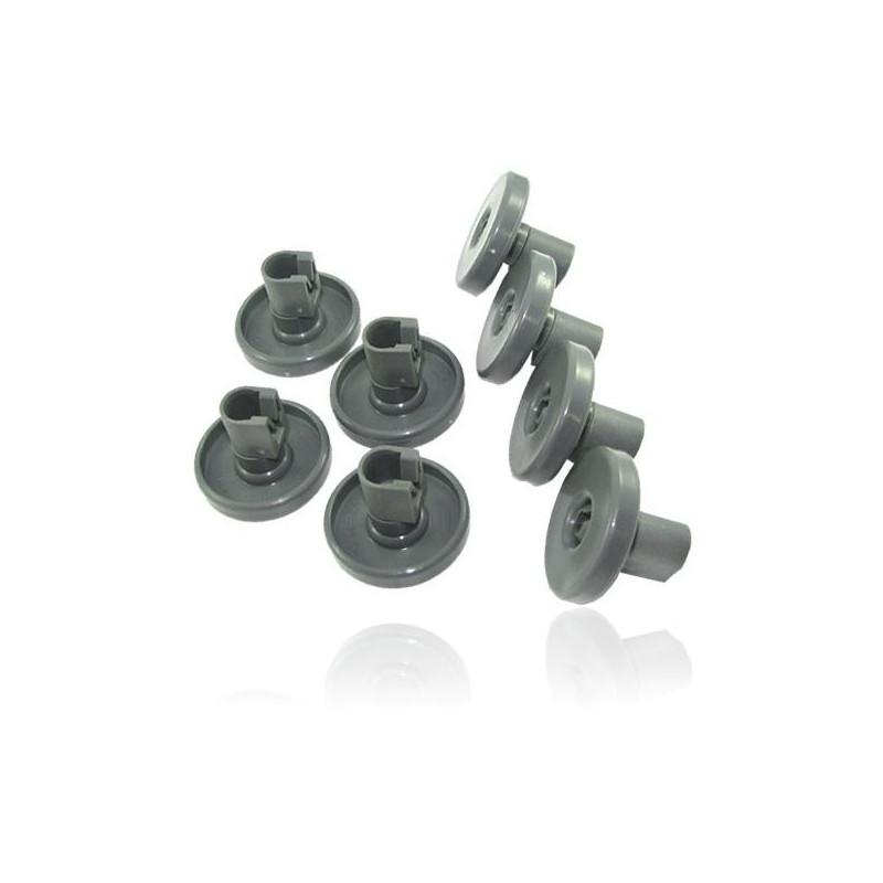 kit de 8 roulettes pour panier inferieur de lave vaisselle electrolux 50286965004