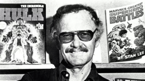 Stan Lee, who helped create Spider-Man, The Hulk, Iron Man and other legendary Marvel comic franchises, in 1988