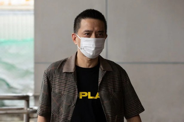 Anthony Wong's case comes amid a flurry of legal action against government critics.
