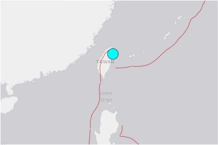 Strong quake strikes Taiwan's Yilan county, violent shaking felt in Taipei