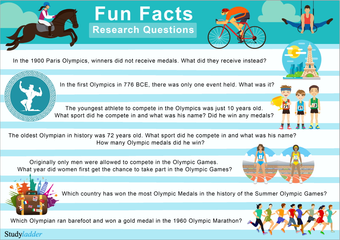 Fun Facts Research Questions