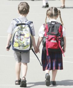 Parents of these Christchurch six-year-olds will pay thousands for their education.