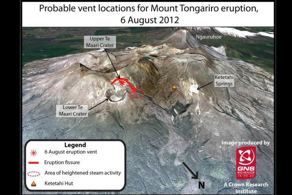 Tongariro steams