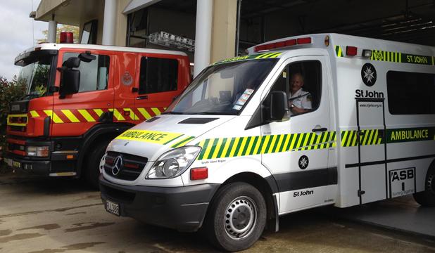 washdyke ambulance