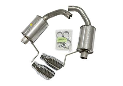 roush mustang axle back exhaust systems