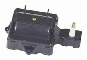 MSD Coil Cover Converts Internal to External Coil Black GM