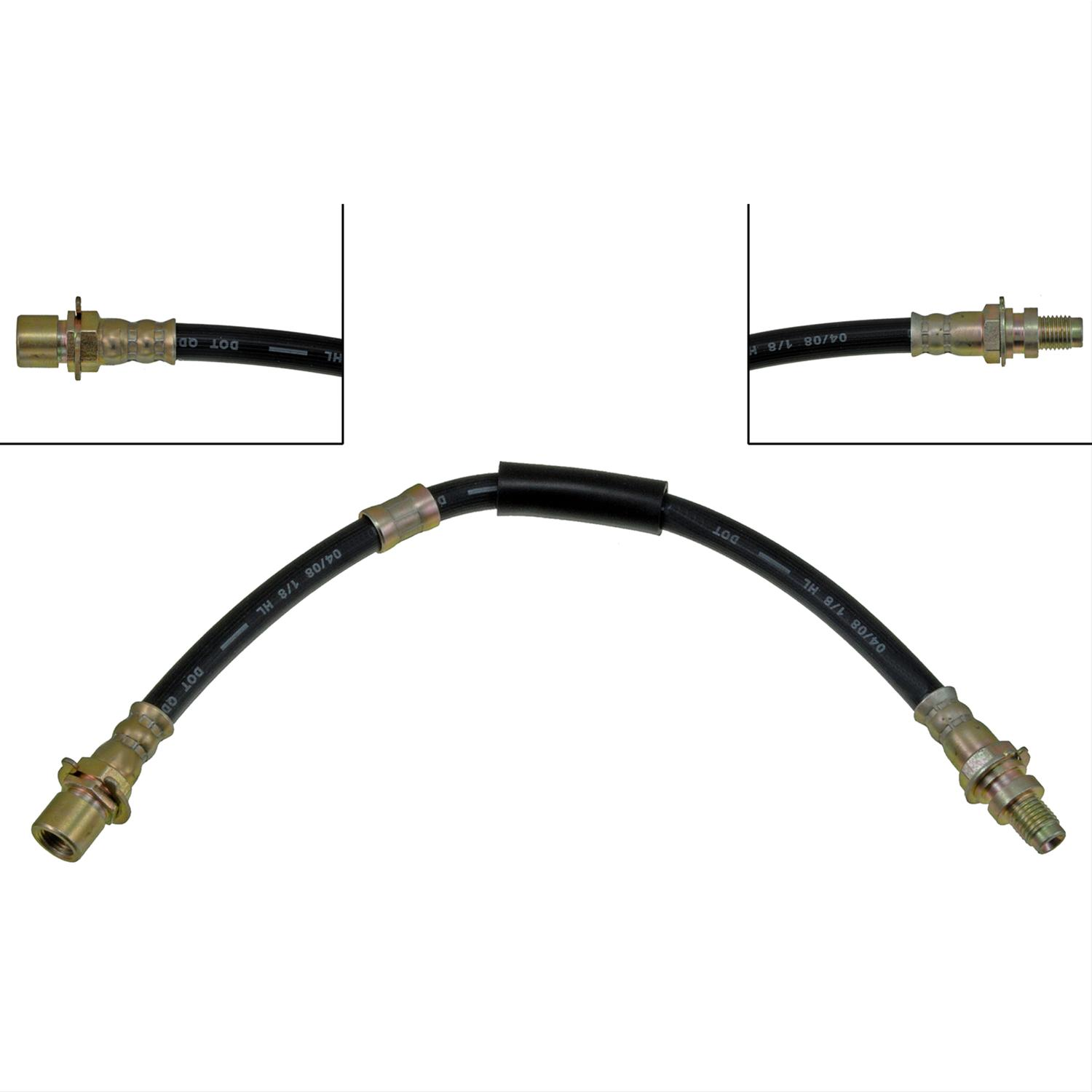 Dorman H Brake Line Rubber Rear Buick Chevy Each