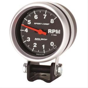 Autometer SportComp Mini Tachometer 08,000 2 58