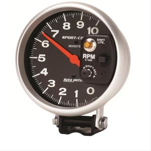 Autometer SportComp Monster ShiftLite Tachometer 0