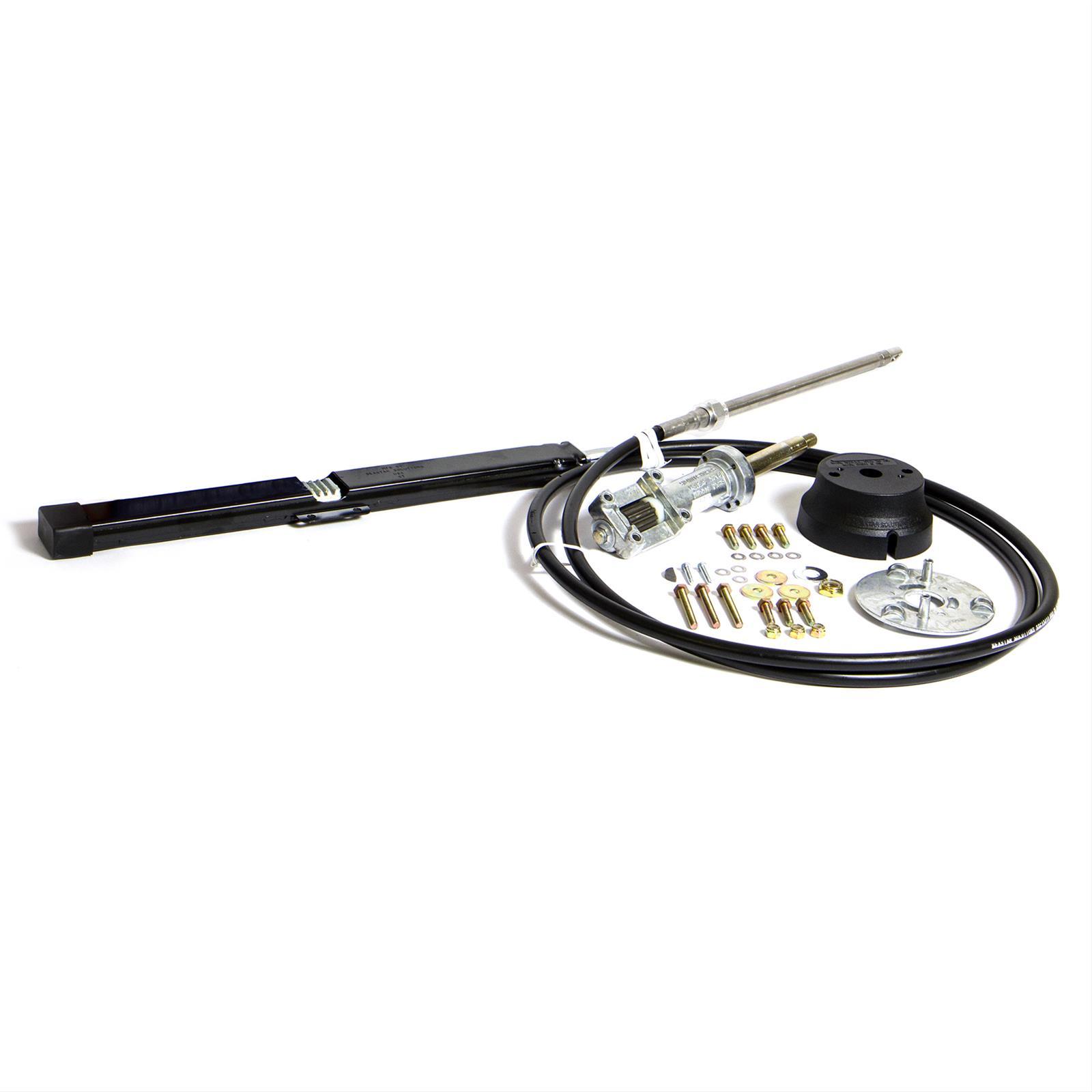 Steering Cable Marine Teleflex Rack And Pinion Helm Bezel