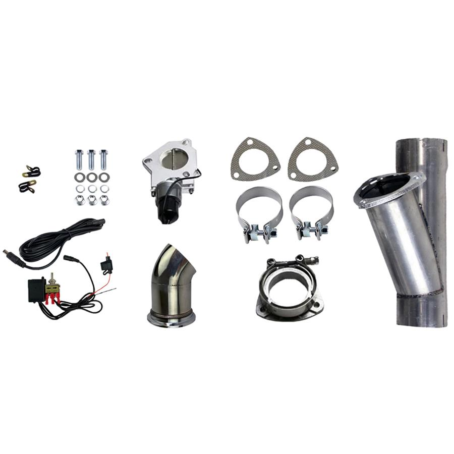 granatelli motor sports 303530 granatelli motor sports electronic exhaust cutout systems summit racing