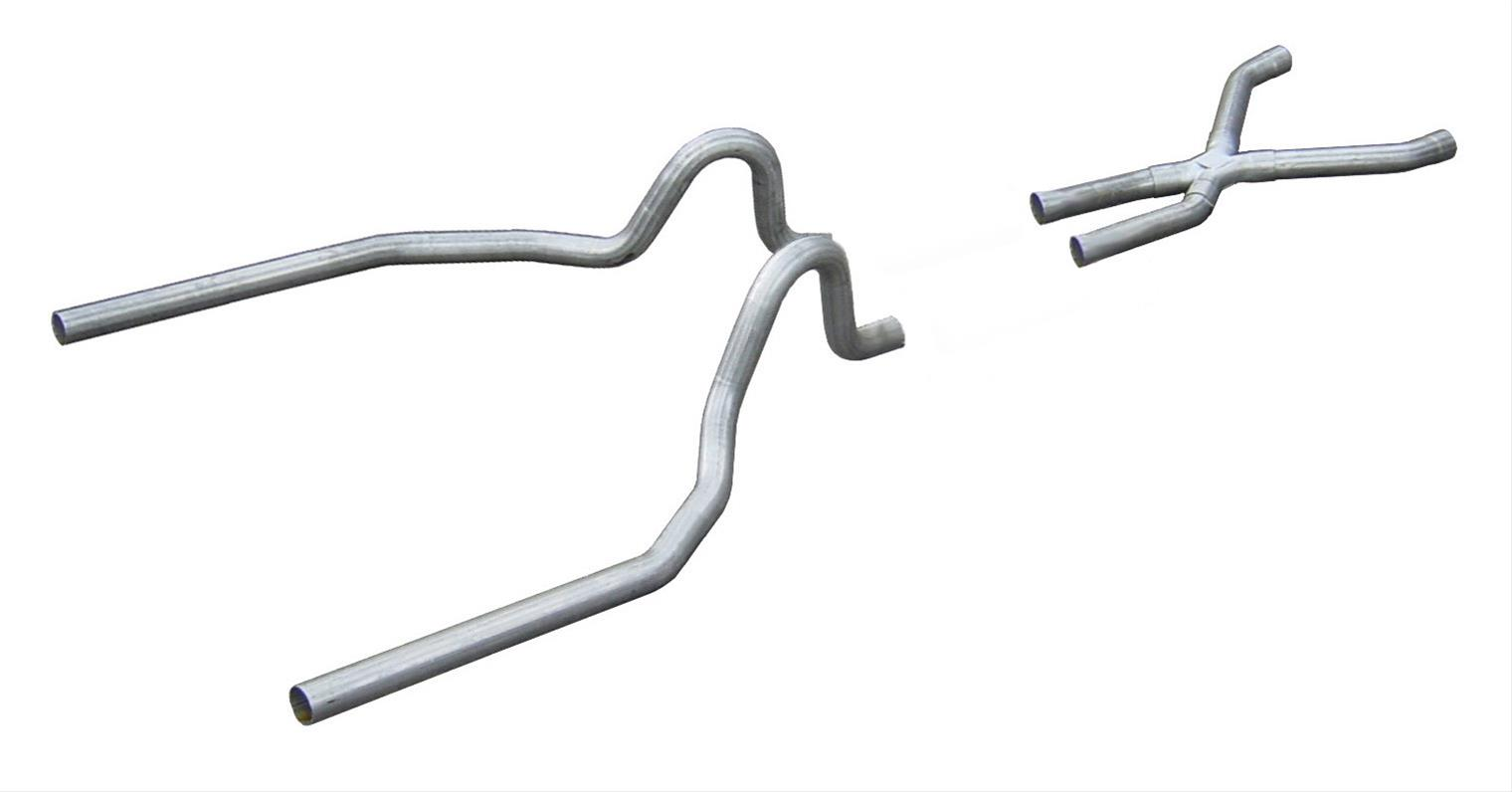 Pypes Exhaust System Race Pro Header Back Stainless X Pipe
