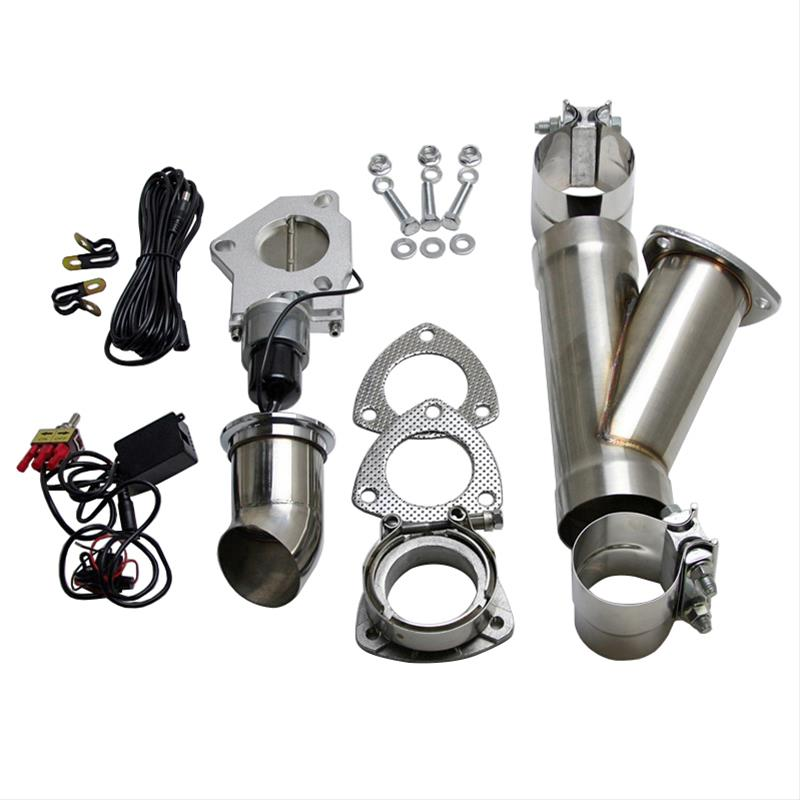 summit racing sum 670212 summit racing complete electric exhaust cutout kits summit racing