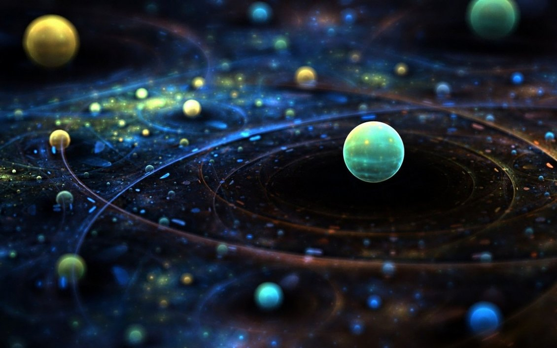 Planets Of The Space HD Macro Wallpaper