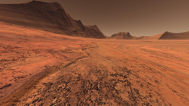 Marte - Paisaje Marciano