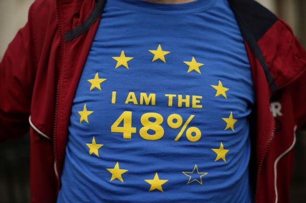 El 23 de junio la mayoría de los británicos votaron a favor del Brexit ( el 51,9% frente al 48,1%).