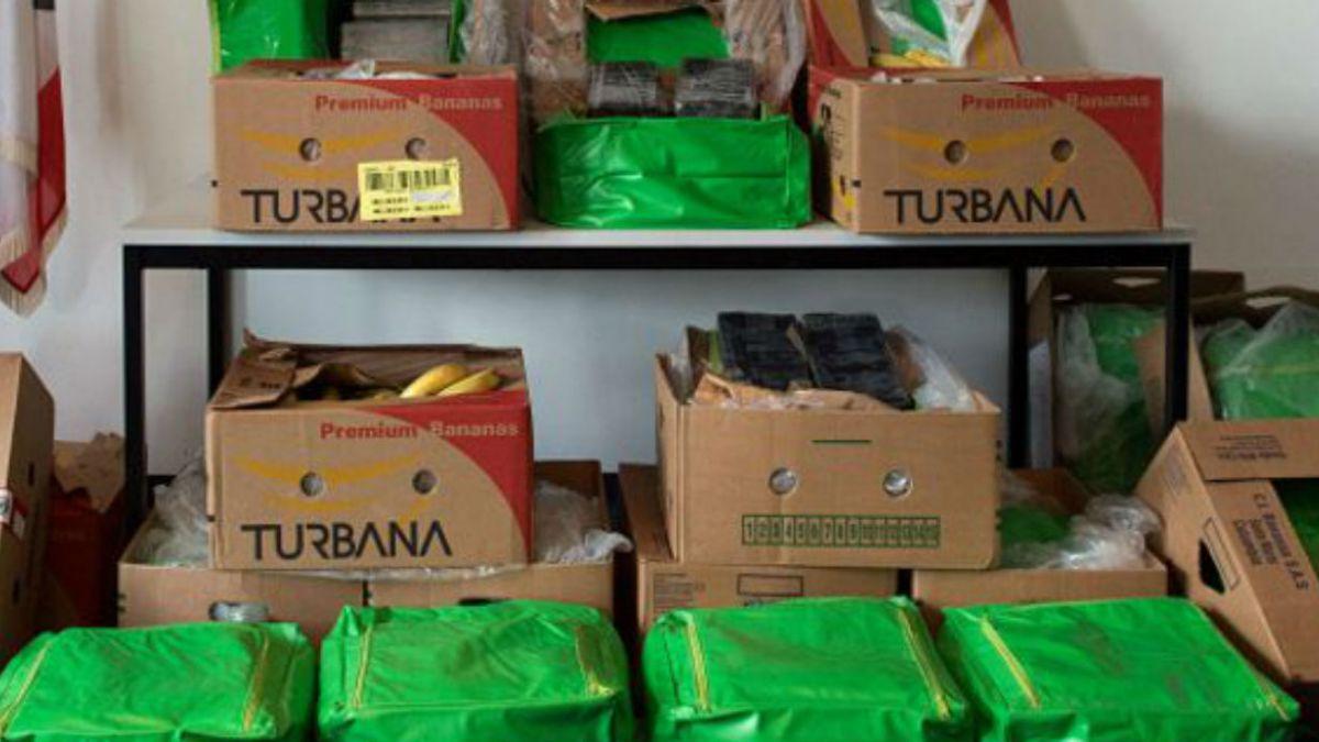 Incautan en Bolivia 133 kg de cocaína que tenía a España como destino