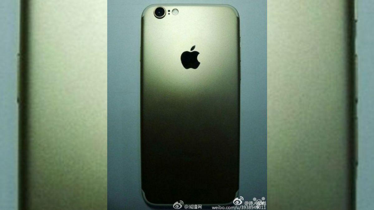 Filtran imágenes de cómo sería el iPhone 7