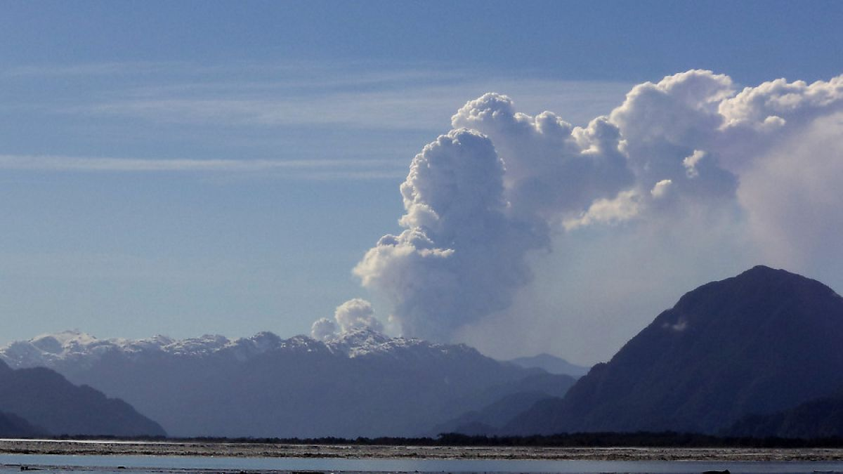Resultado de imagen para volcán Hudson