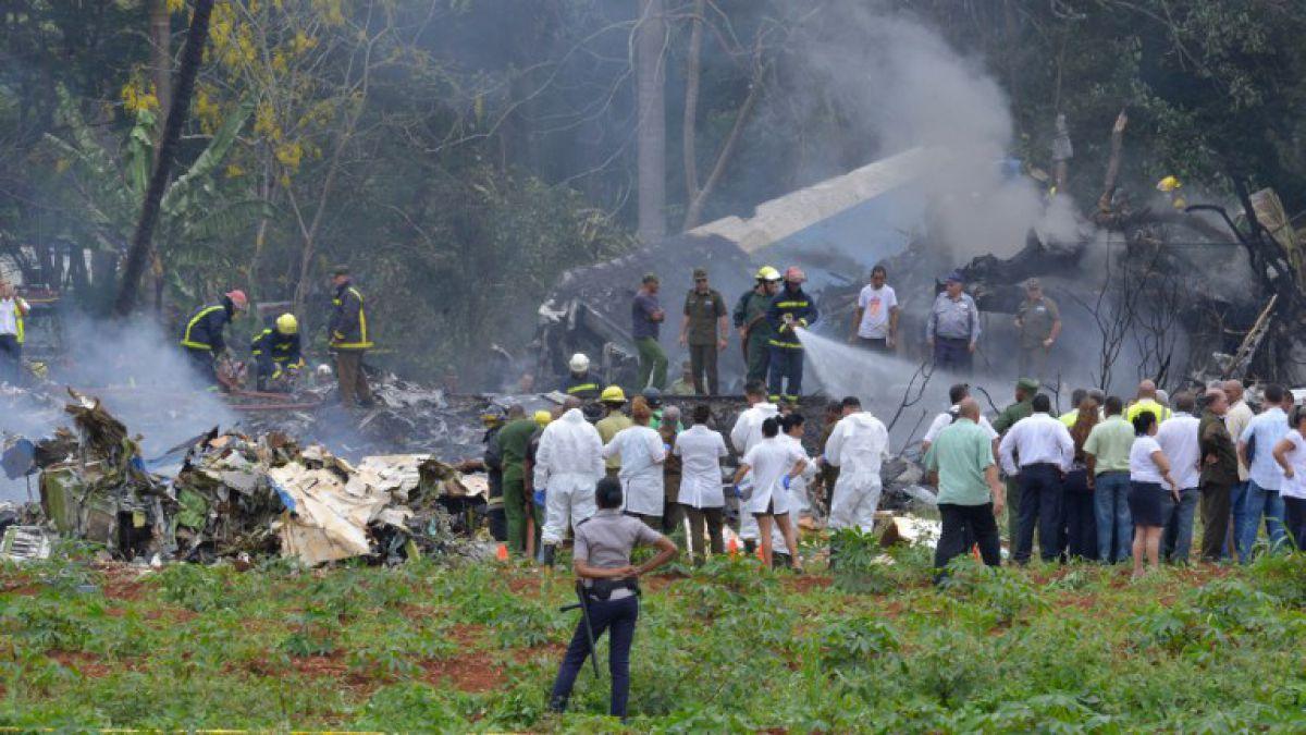 Resultado de imagen para accidente Boeing 737-200 cubana