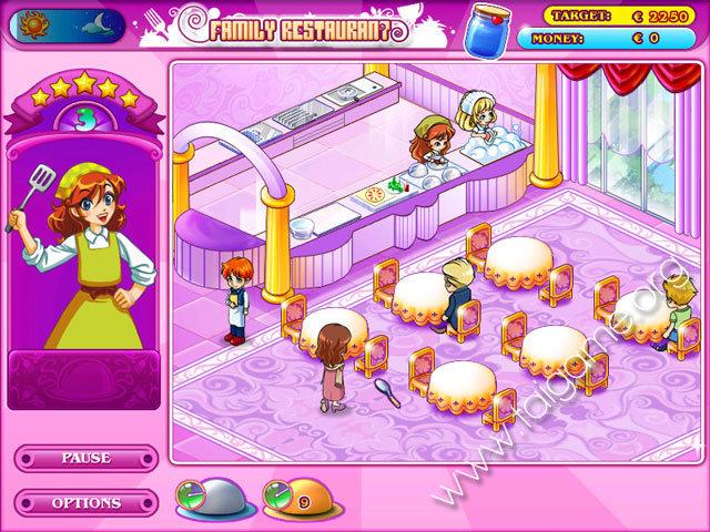 Family Restaurant Free Online Game