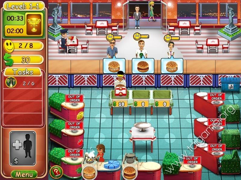 New Restaurant Serving Games