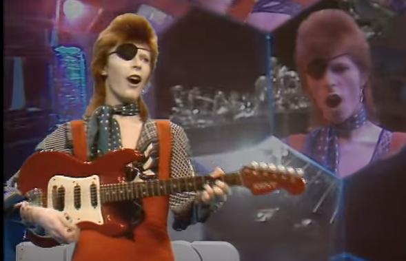 Hommage à David Bowie cette semaine au Parvis