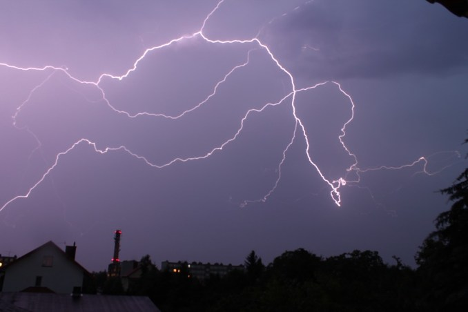 Les orages arrivent sur Tarbes ce mercredi