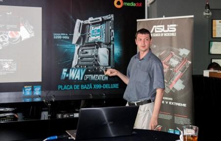Lansarea placilor de baza ASUS X99
