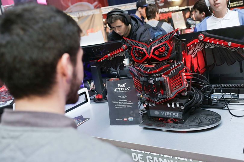 ASUS Strix la Dreamhack Bucharest 2014