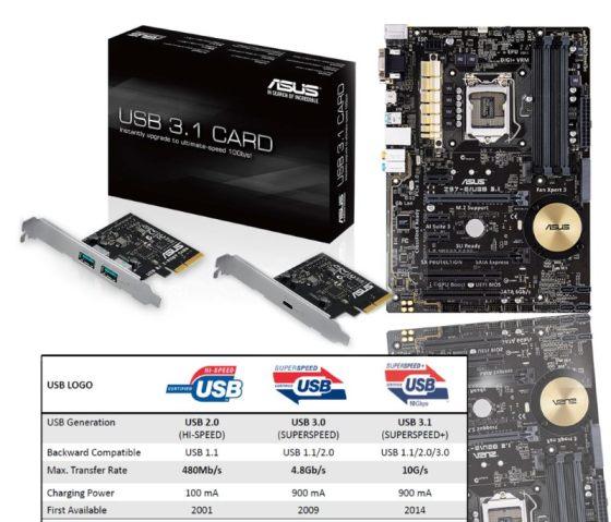 Adaptor ASUS USB 3.1
