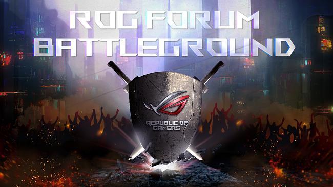 ROG Forum Battleground Community