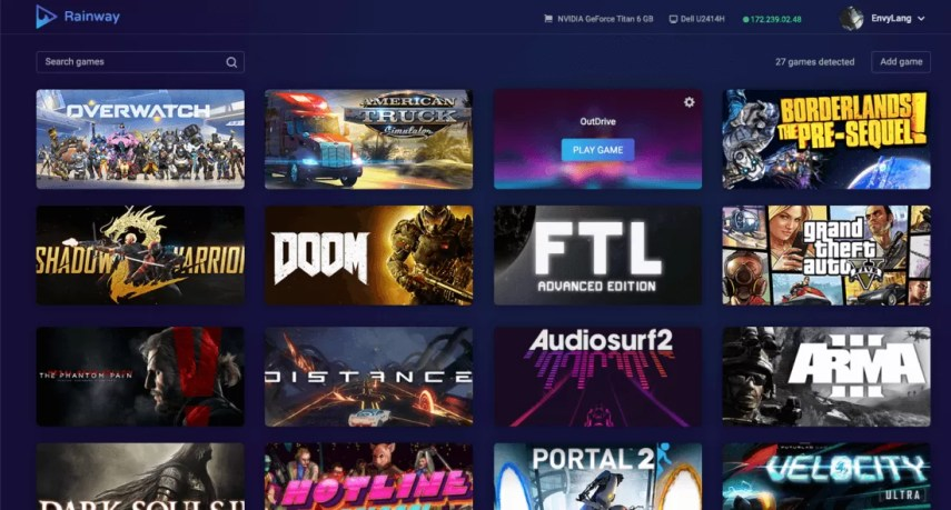 Rainway looks to stream your PC games to every platform   TechSpot Essentially you will be able to play games installed on your computer from  any device including other computers as long as you have an internet  connection