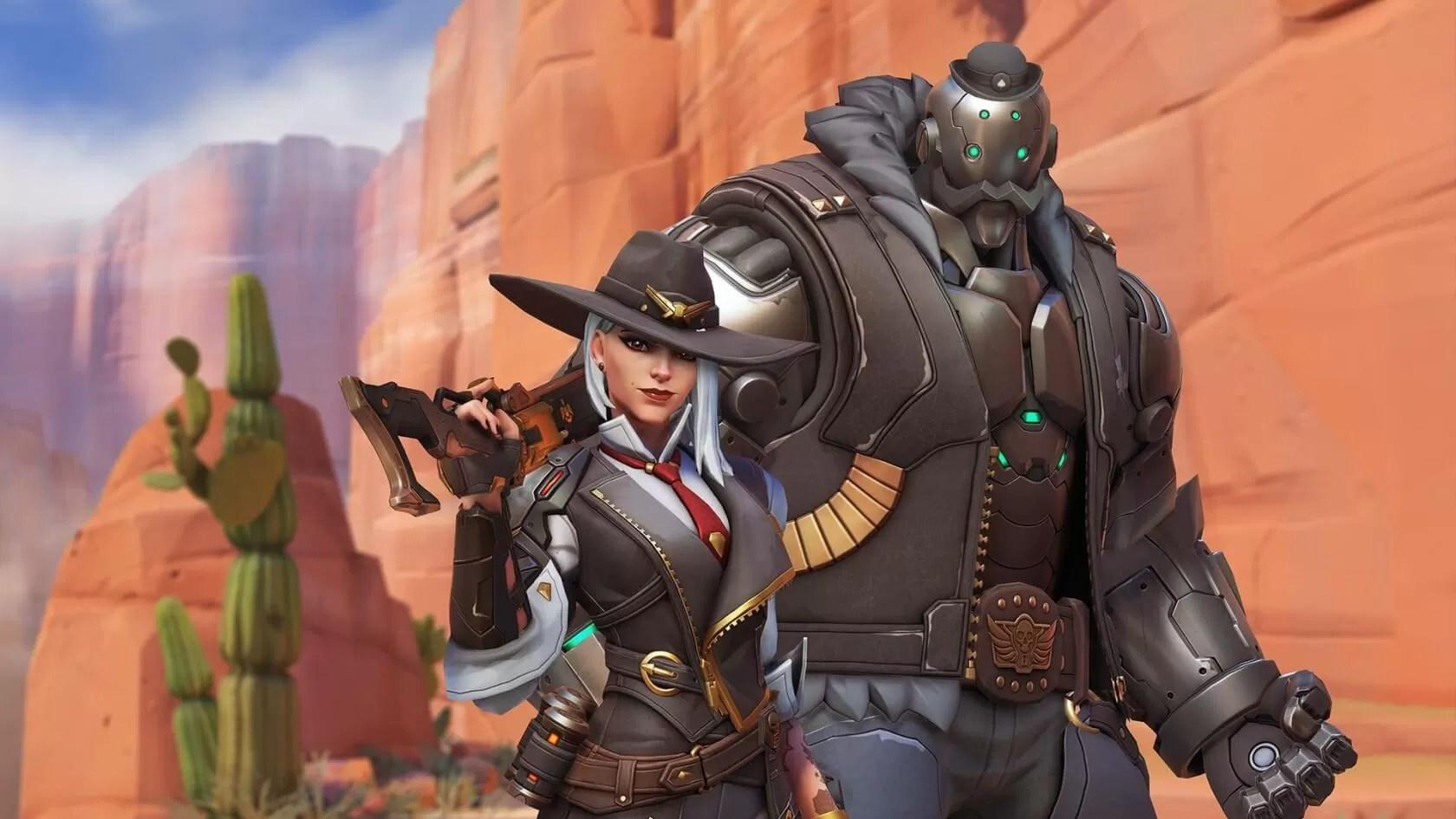Overwatchs Next Hero Is Ashe A Gunslinging Western Gang Leader TechSpot
