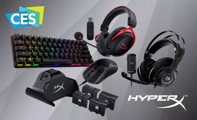 HyperX reveals compact mechanical keyboard and Xbox controller charger at CES