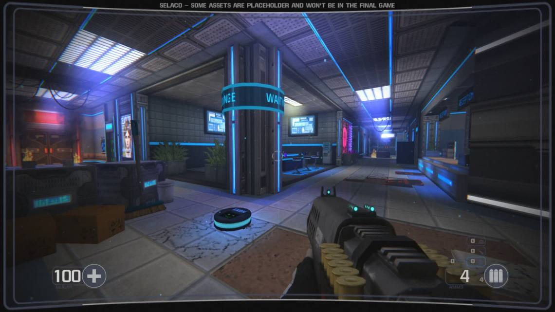 Indie game Selaco pushes the original Doom's tech to a whole new level