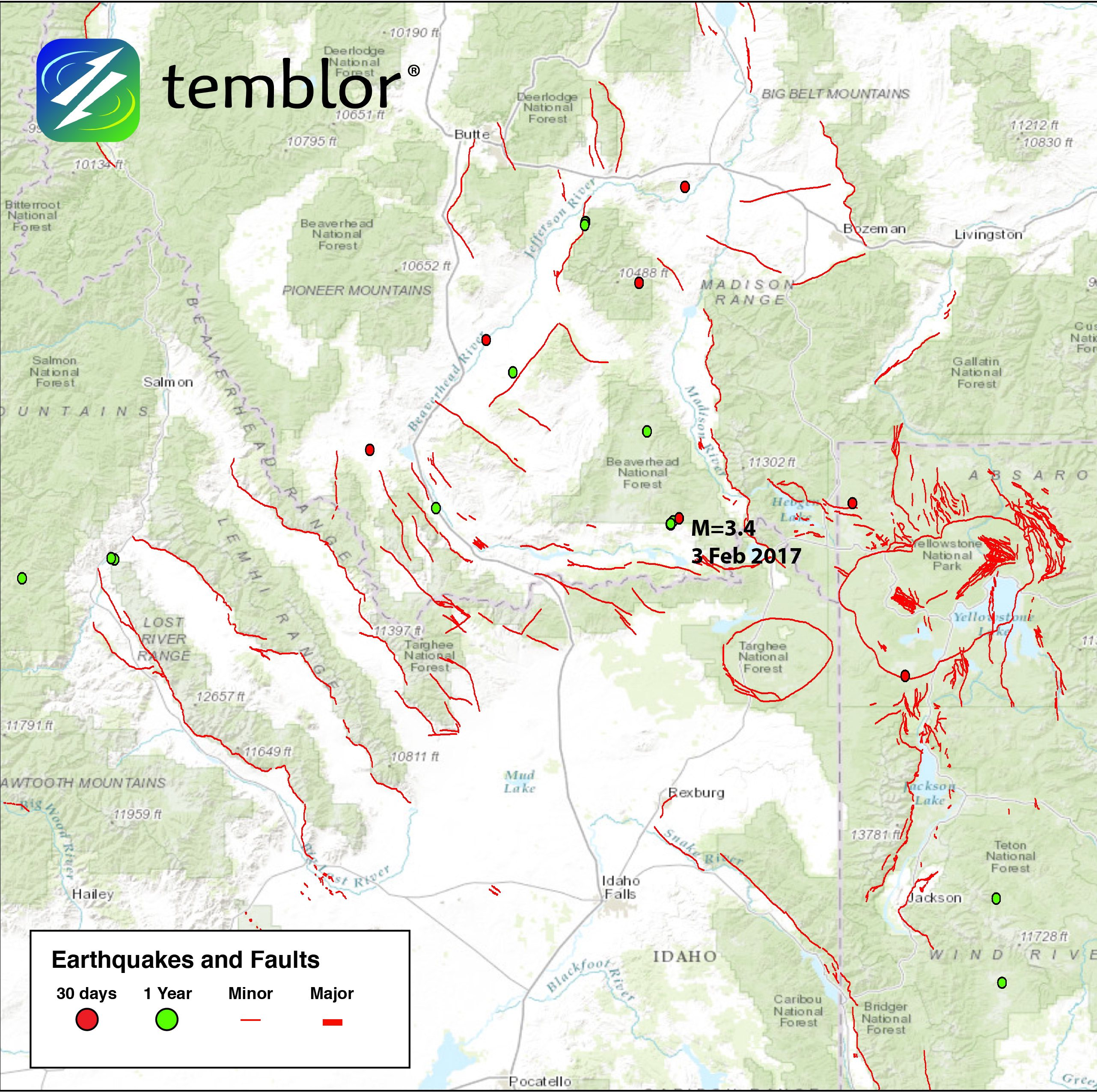 Seismic Activity Increase Seen In Idaho And Greater