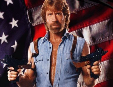 Chuck Norris once shot down a German fighter jet by pointing his finger and yelling,