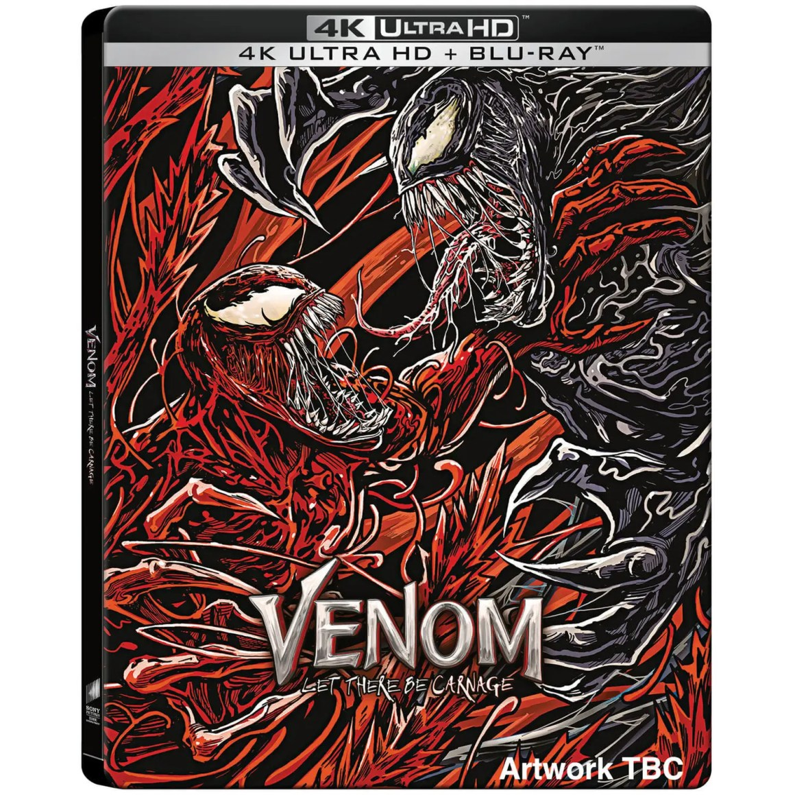 Venom: Let There Be Carnage – 4k Ultra HD Limited Edition Steelbook – Pre Order £29.99 at Zavvi