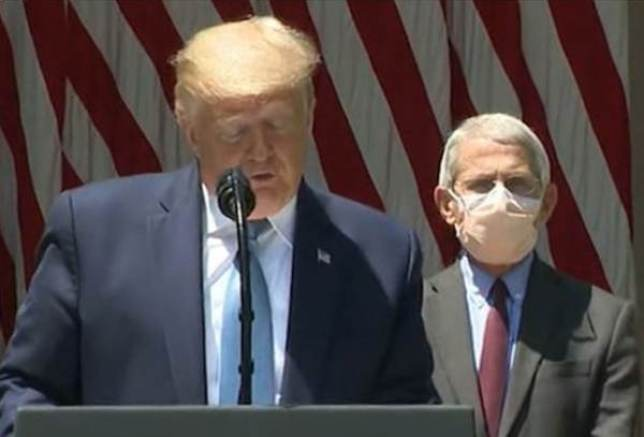 Masks Are Symbolic,' say Dr Fauci and The New England Journal of ...