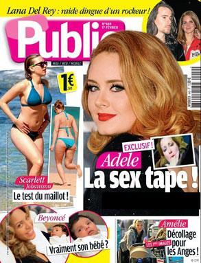 Adele Sex Tape Headline