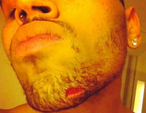 Chris Brown Twitpic