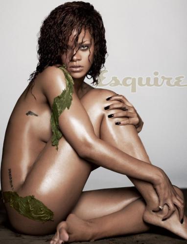 Rihanna Nude in Esquire