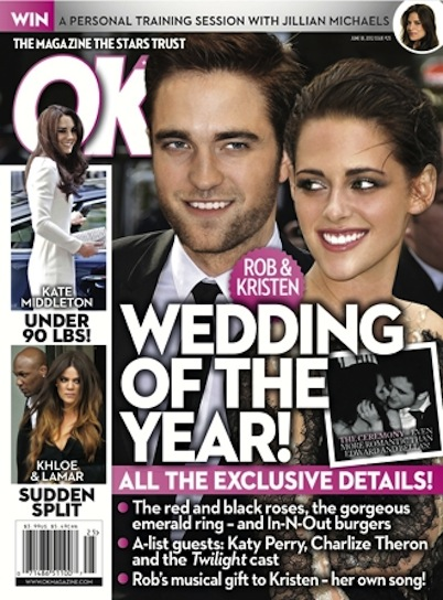 Robsten Wedding Plans